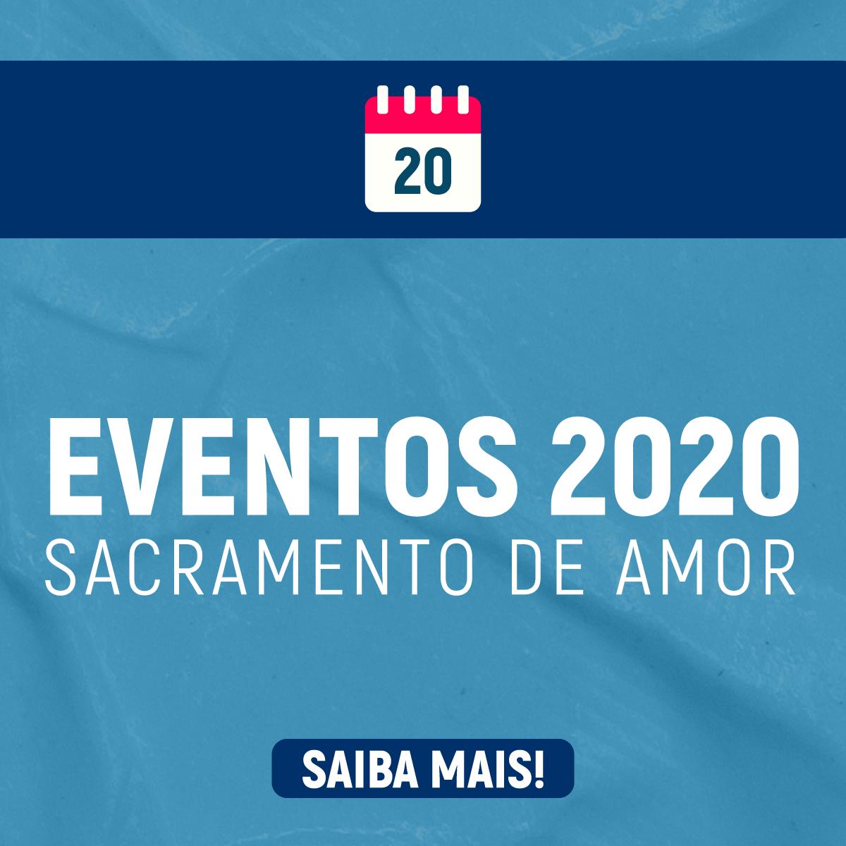Agenda Sacramento de Amor 2020